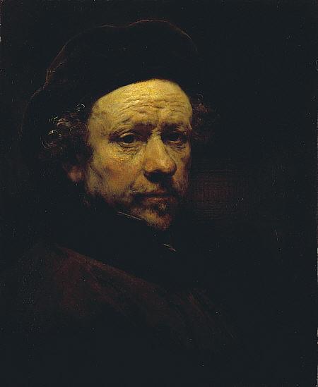 Rembrandt Sef Portrait